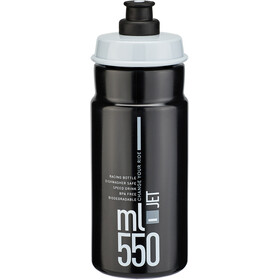 Elite Jet Drinking Bottle 550ml black/grey logo